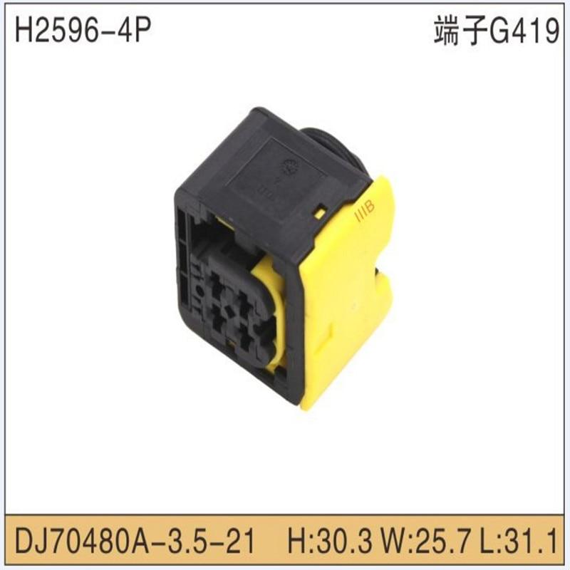 HDSCS 2/4 положение, 6 мм [. 1418390 дюйма] Центральная линия, герметичная, черная, сигнал 1-1418483-1 1-1703808-1 1 1-1/1-1703818---1