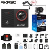 Экшн-камера AKASO EK7000 Pro, сенсорный экран, регулируемый угол обзора 40 м, водонепроницаемая