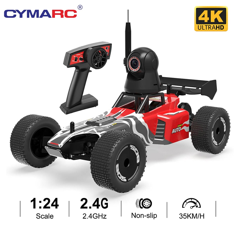 RC Car 35Km/h High Speed Controlled Car JY88 1/24 Remote Control Car With 4k Camera Children's Remote-Control Automobile