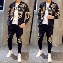 Спортивный костюм, куртка + штаны, тренировочный костюм Mannen Ropa Hombre Chandal Hombre, спортивный костюм, Мужская толстовка, домашний мужской спортивны...