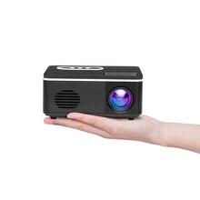 Mini projecteur HD 1920x1080 P Portable lumière LED Port USB AV HDMI Mini projecteur lecteur multimédia maison projecteur LED