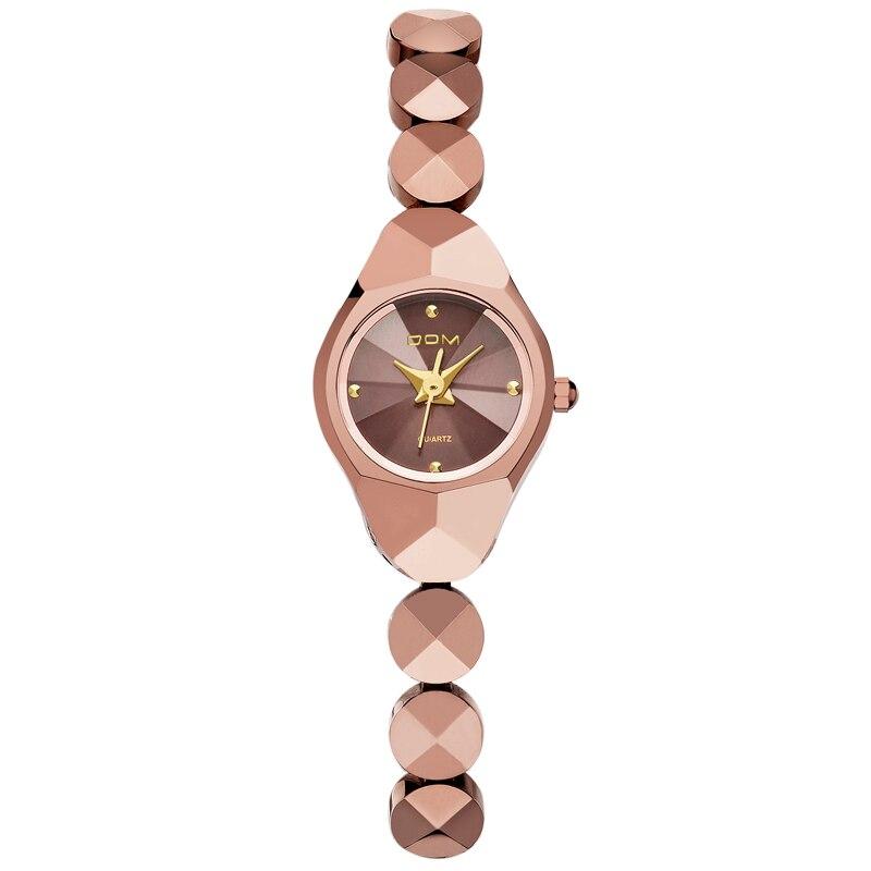 DOM Mini Woman Watch Tungsten Steel Quartz Luxury Top Brand Waterproof Bracelet Stylish watches for women wrist Reloj W-735CK-9M enlarge