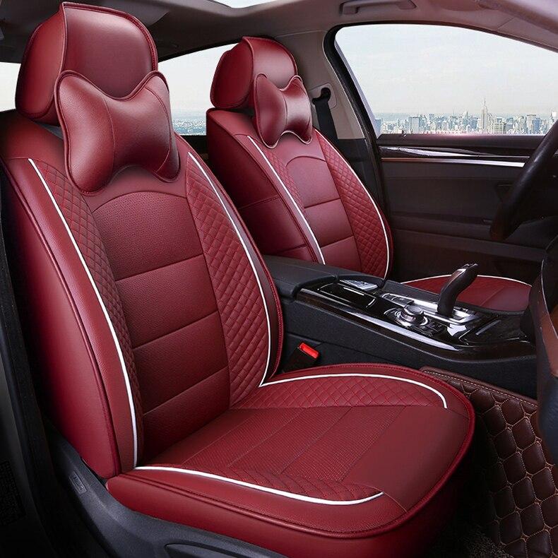 Funda personalizada para asiento de coche, cubierta para asiento delantero de Chrysler...