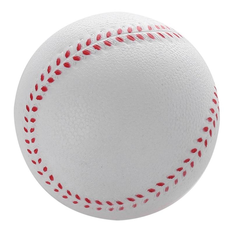 1 Uds. Bolas de béisbol hechas a mano universales superior duro y bolas de béisbol suave pelota de Softball entrenamiento pelotas de béisbol