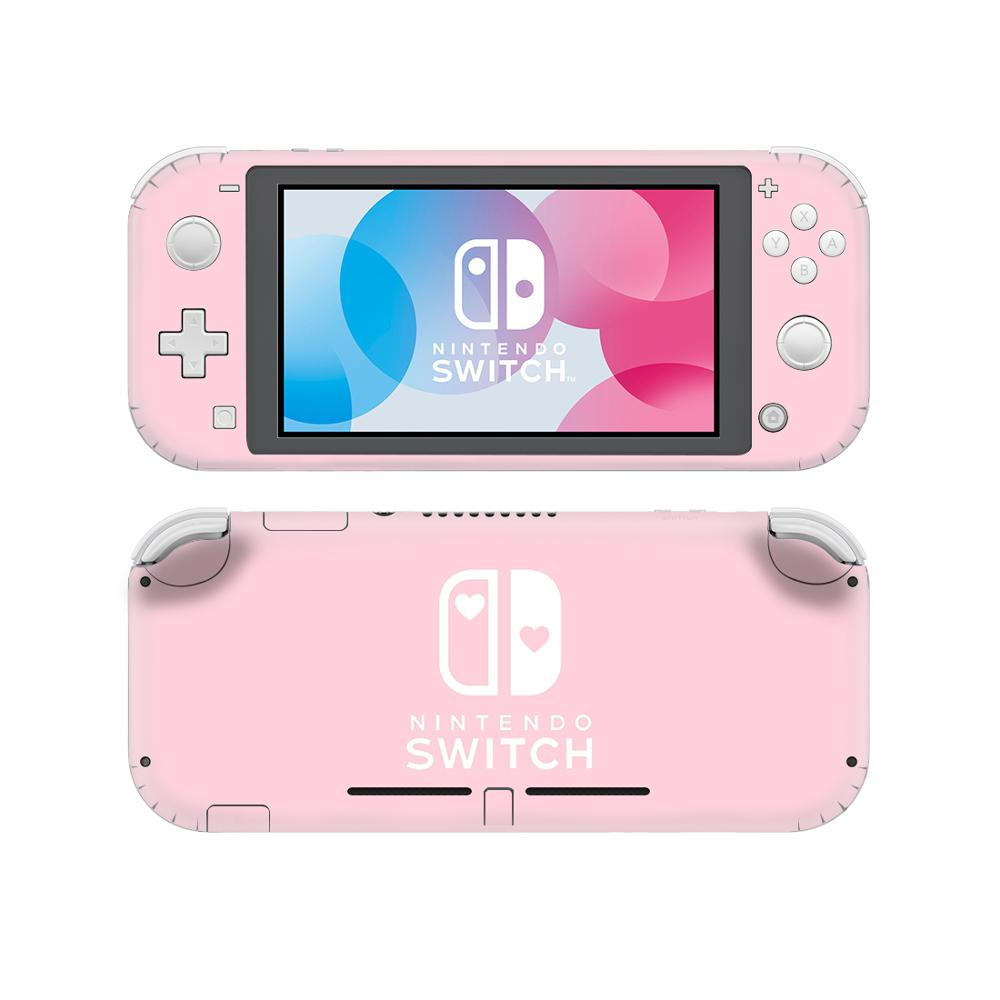 AliExpress - Vinyl Screen Skin Pure Color Pink Cute Girl Protector Stickers for Nintendo Switch Lite NS Console Nintend Switch Lite Skins