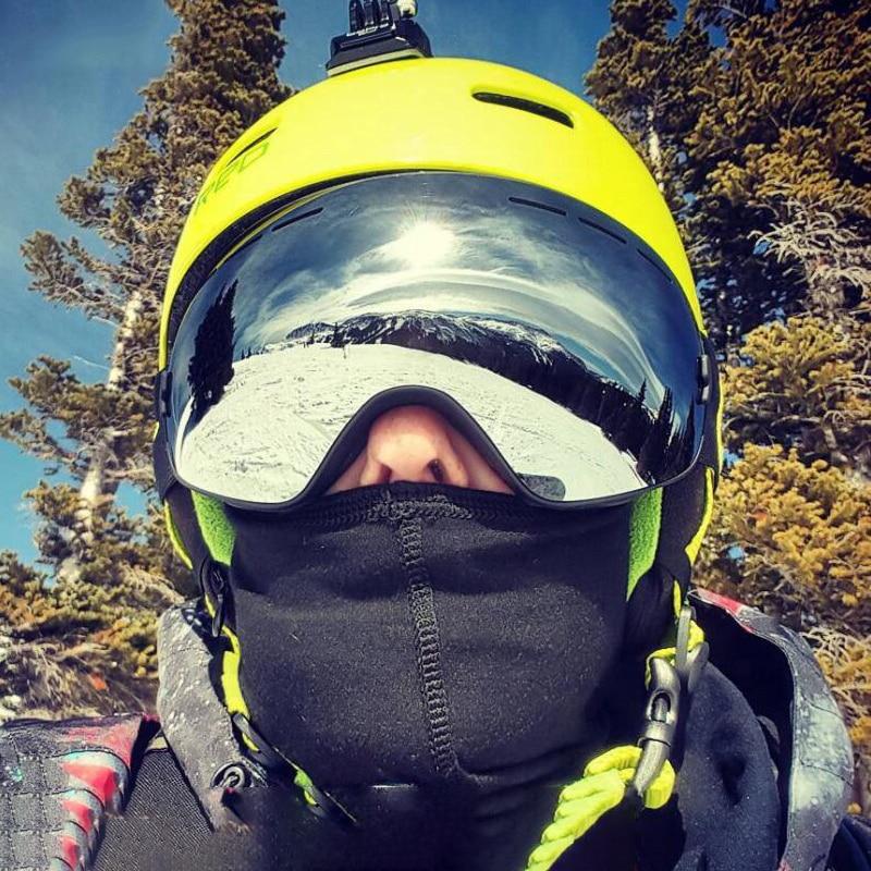 Double-Layer Anti-Fog Ski Goggles Adult Skiing Eyewear Man Women Outdoor Mountaineering Ski Goggles Snowboard Glasses Polarized