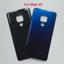 Back Battery Cover For Huawei Mate 20 Rear Door Housing Case with Adhesive For Mate20 mate 20 Glass