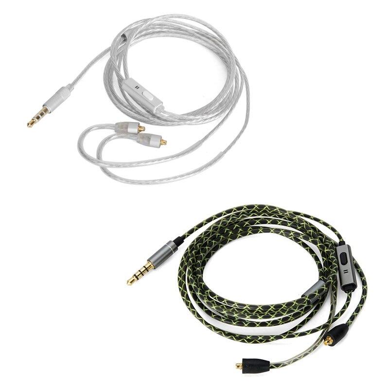 Reemplazar Cable de Audio con micrófono para SONY XBA-Z5 XBA-H3 H2 XBA-A3 A2 XBA-N3AP N1AP XBA-300AP auriculares