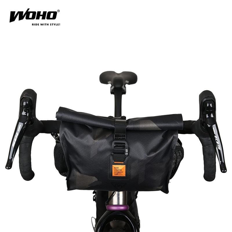 WOHO BIKEPACKING متعددة وظيفة أكياس ، المقود أكياس ، كامل للماء الدراجات أكياس دراجة MTB الطريق ، الحصى الدراجة أكياس ،