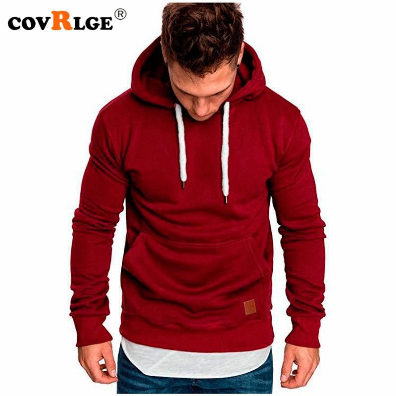 Covrlge Mens Sweatshirt Long Sleeve Autumn Spring Casual Hoodies Top Boy Blouse Tracksuits Sweatshir