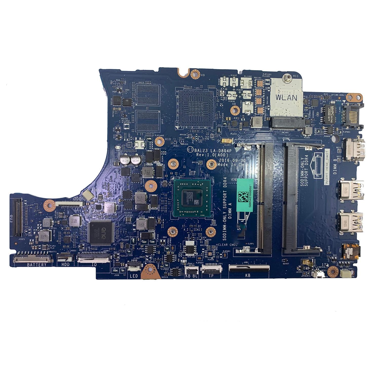 LA-D804P CN-0KF2J6 KF2J6 for DELL INSPIRON 5565 Laptop Motherboard BAL23 REV:1.0(A00) A9-9400 Mainbo