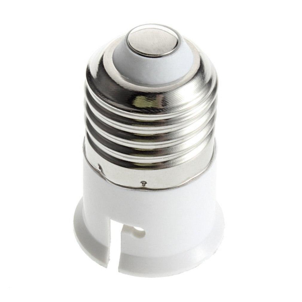 1 Uds E27 a B22 enchufe adaptador de soporte de lámpara de alta calidad enchufe extensor titular de la lámpara de la marca est elegante