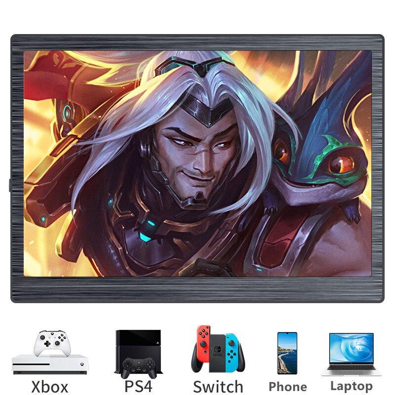 7 بوصة المحمولة عرض شاشة صغيرة ل Xbox سلسلة X التبديل PS4 IPS الألعاب شاشة التوت بي 4 3 ثانية المحمول شاشات كريستال بلورية