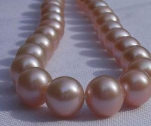 Женское Подарочное ожерелье с круглым жемчугом диаметром 17 дюймов и искусственным жемчугом диаметром 13-14 мм