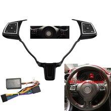 Универсальная Многофункциональная кнопка на руль для V olkswagen, для V W J etta Golf P olo Passat Touran Bora Sagitar Santana