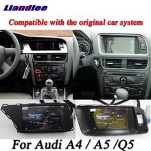 Liandlee için araba Android sistemi Audi A4/A5/Q5 2009 ~ 2015 radyo Video kamera TV Wifi GPS navi navigasyon HD ekran multimedya