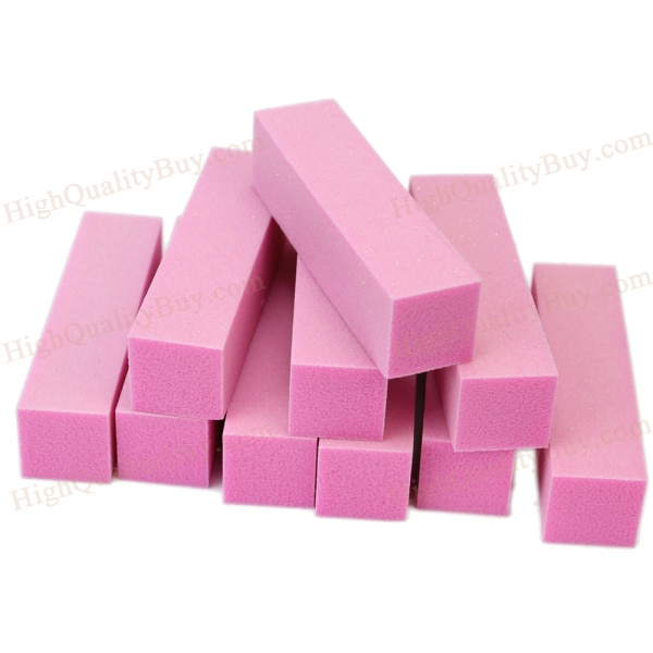 10pc mini colorido prego esponja lixa bloco buffer de unhas arquivo para gel uv polonês pedicure ferramenta unha arte manicure suprimentos