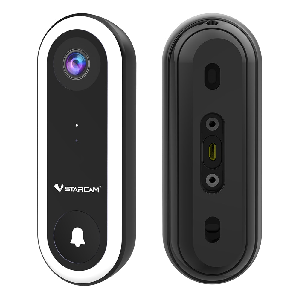 2MP Remote Smart Video Doorbell Camera Security IR Night Vision IP Door Bell Face Recognition Wireless HD For Apartments enlarge