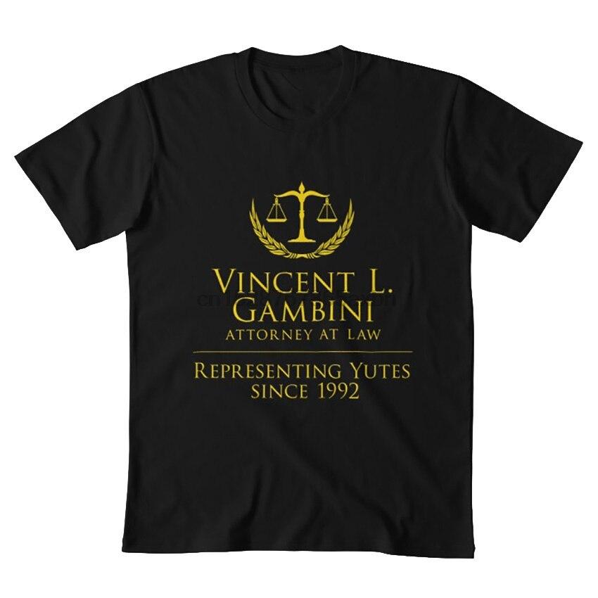 Regalo de Vicent Gambini que representa a los fans de Yutes regalo de mi prima Vinny oficina legal de regalo de la camiseta de Vicent Gambini