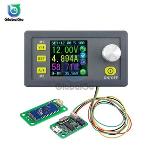 DPS3005 Step-down Programmable Power Supply Module Buck Voltage Converter With USB Bluetooth LCD Ammeter Voltmeter Power Meter