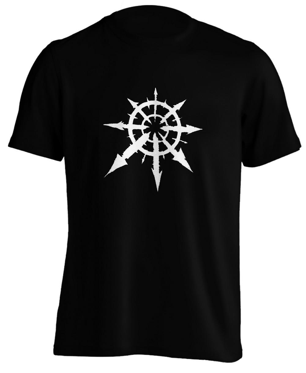 Warhammer Chaos undiffed футболка высокого веса мягкая виниловая Специальная с
