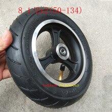 Pneu moyeu pour véhicule électrique   Haute qualité, 8.5 pouces 8.5x2 8 1/2x2 (50-134), pneu de bicyclette pour enfant, roue 81/2*2, avec moyeu, haute qualité