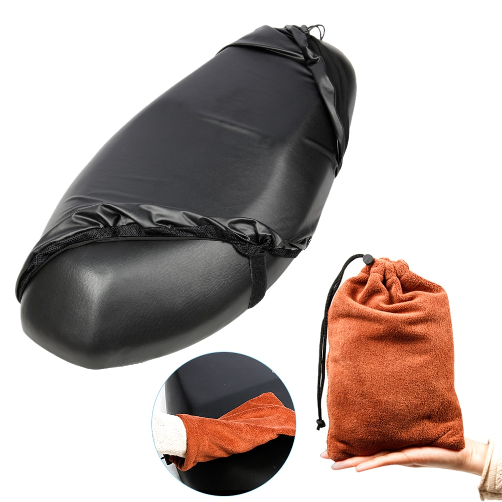 Motorcycle Seat Cover Motorcycles Electric Cars Scooters Waterproof Dust UV Protector Motorbike Cushion Storage Bag Accessories