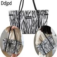 fashion canvas handbag personality graffiti tote bag large capacity shoulder bag shopping female bag travel shoulder beach bag