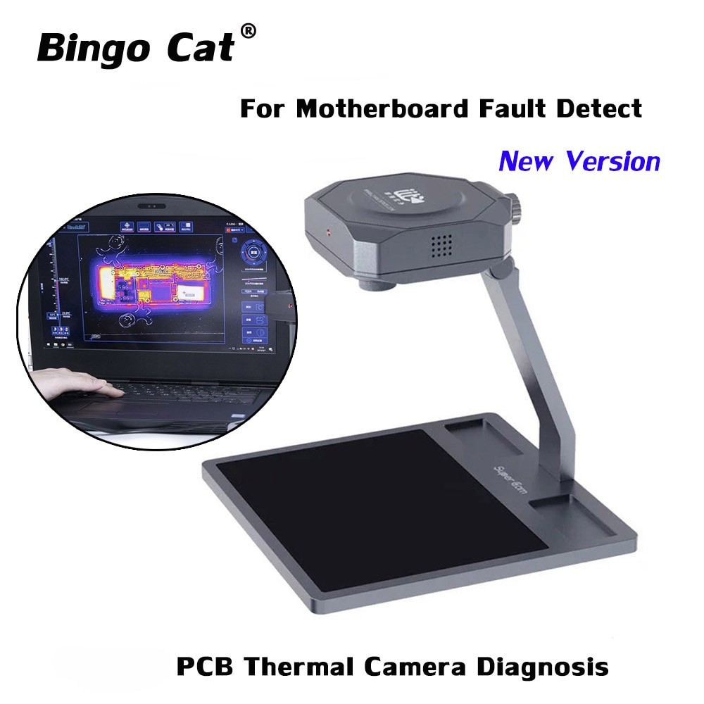 Qianli PCB كاميرا الحرارية التشخيص أداة الهاتف المحمول اللوحة إصلاح كاشف الأخطاء أداة التصوير الحراري