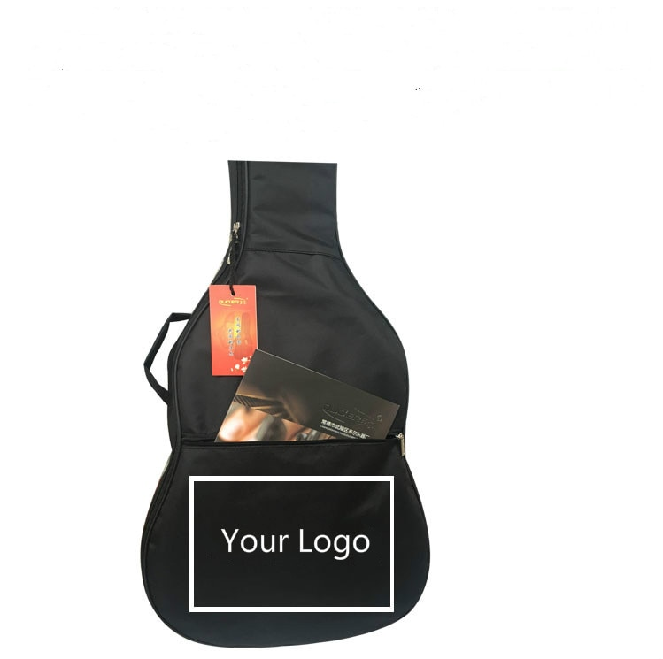 40/41 Inch Guitar Case Guitar Bag Customize Your Logo Bass Bag Waterproof Backpack 600D Oxford Guitar Bags With Shoulder Straps enlarge