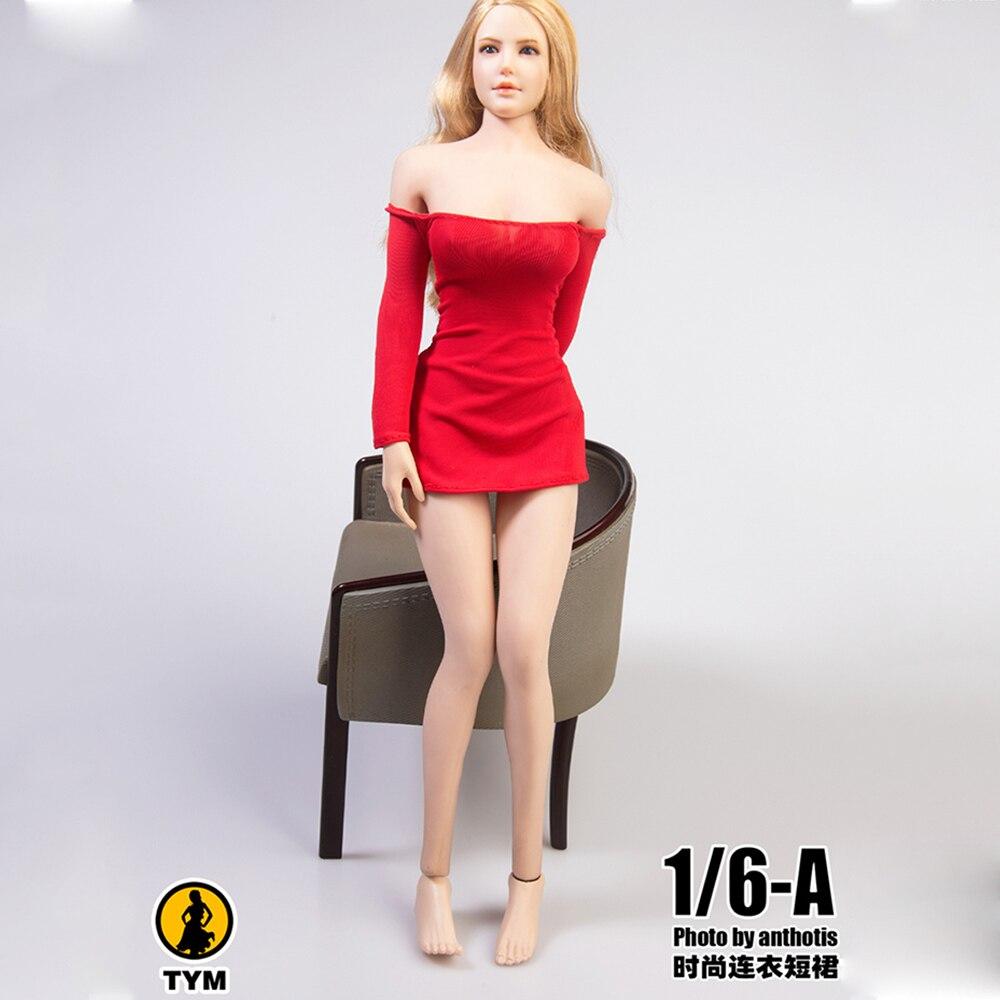 1/6 масштабная женская модная юбка мини-юбка, женская одежда для 12 дюймовых кукол в наличии