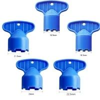 5 pcs plastic faucet aerator repair replacement tool spanner for aerator wrench sanitary ware faucet inflator filter liner tool