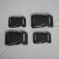 100 pcs 2025mm plastic quick side release buckle purse luggage outdoor backpack webbing belt clip clasp parts leather craft diy