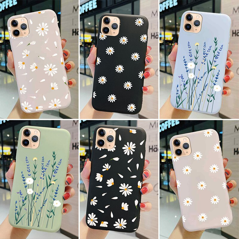 Color Cartoon Phone Case For iPhone 5 5s se1 6 6s Plus 7 se2 8 x xr 11 12 Pro Max Cover Tup Silicone
