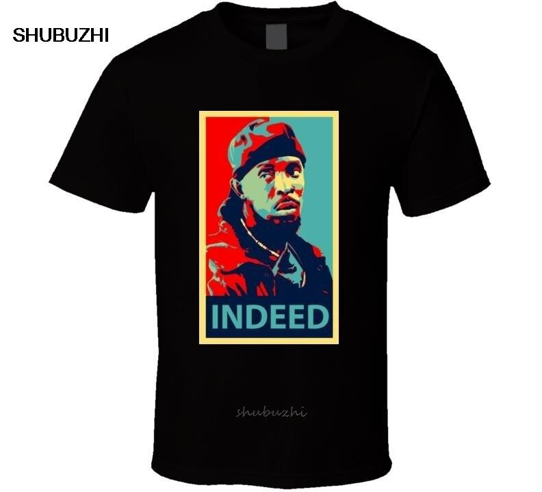 Nueva camiseta para hombre de Omar Little Coming, 2Xl talla S a ropa de algodón, camiseta a la moda de verano para hombre, talla europea