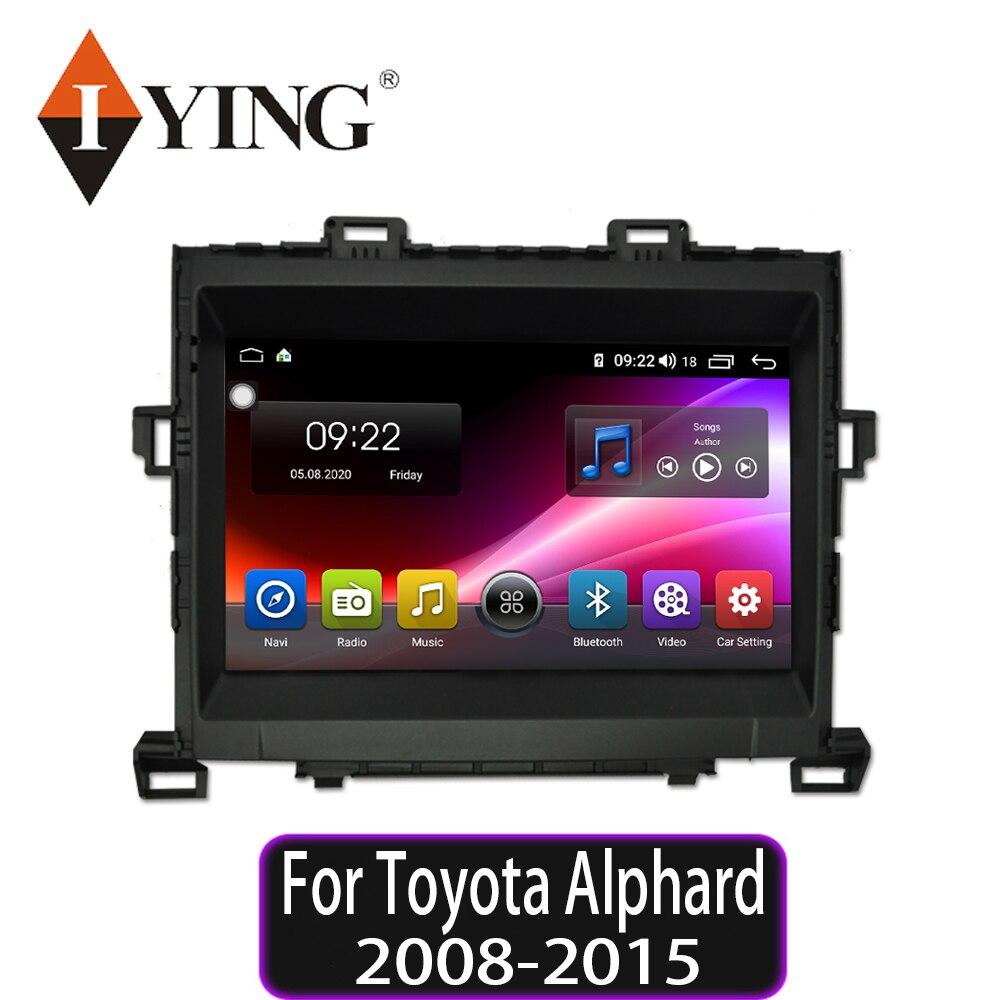 IYING Android 9,0, 8 núcleos reproductor Multimedia con DSP de Radio, navegación GPS para Toyota Alphard 2008-2015, radio automática no 2 din DVD