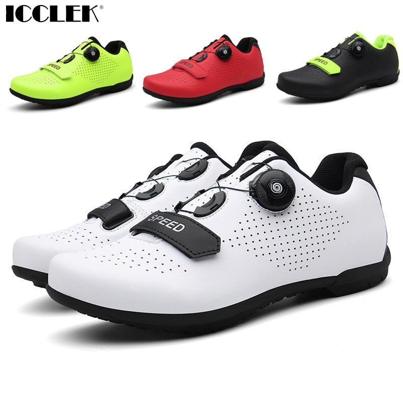 Road Bike Shoes Women's Bicycles MTB Sneakers Flat Pedal Speed Mountain Summer Specialized Safety Motorcycle Boots for Man 2021