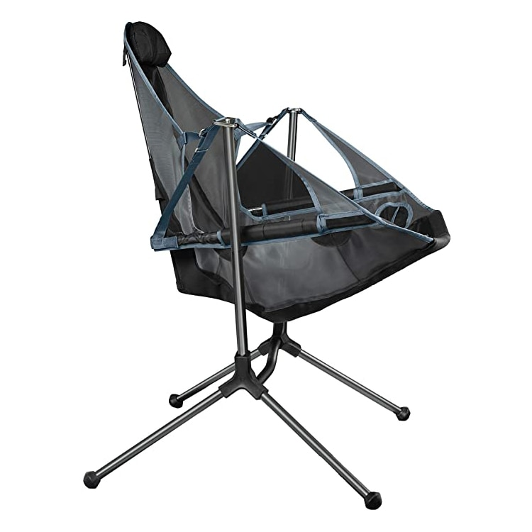 For Outdoor Camping Fishing Chairs Stargaze Recliner Luxury Camp Chair Breathable Mesh Construction 2 Side Pockets enlarge