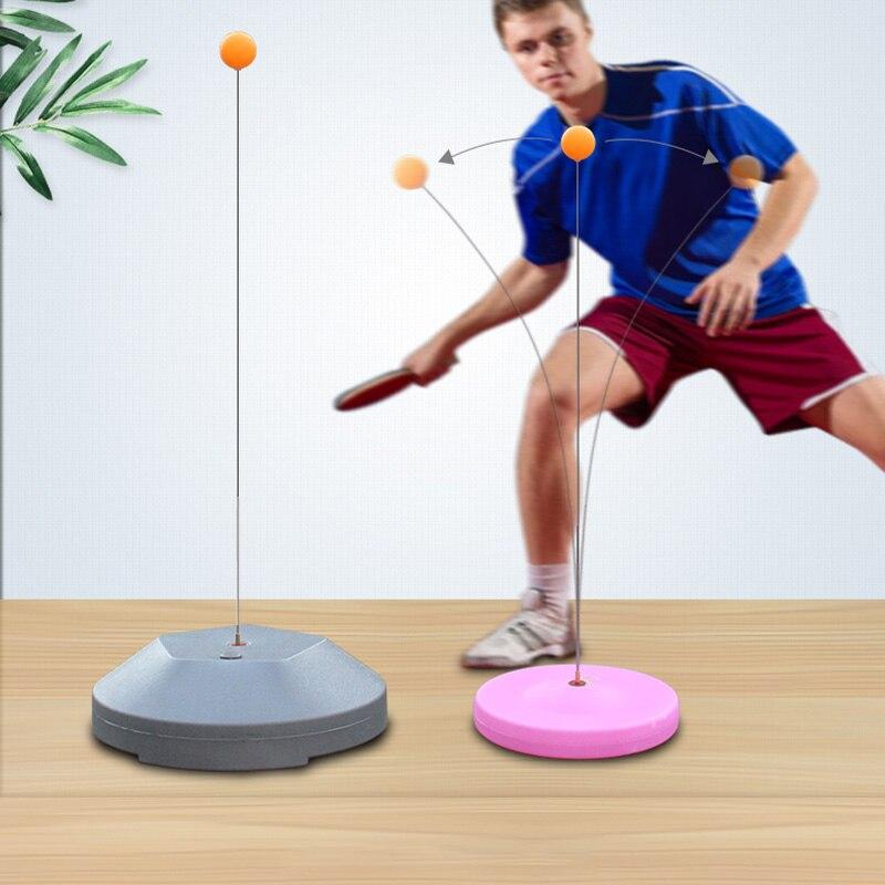 Treinador de ping-pong para tênis de mesa, equipamento de treinamento de rebote de eixo, máquina de ping-pong para treinamento, jogo interno