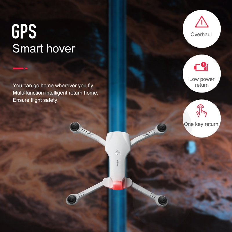 2021 New Drone 4K HD Dual Camera With GPS 5G WIFI Wide Angle FPV Real-Time Transmission Rc Distance 2km Professional Drones Toys enlarge