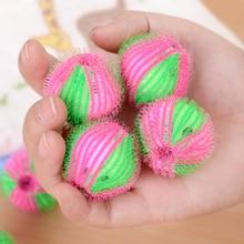 Feiqiong Neue Haar Entfernung Wäsche Ball Kleidung Körperpflege Haar Ball Waschmaschine Reinigung Wäsche Kugeln Zufällige Farbe