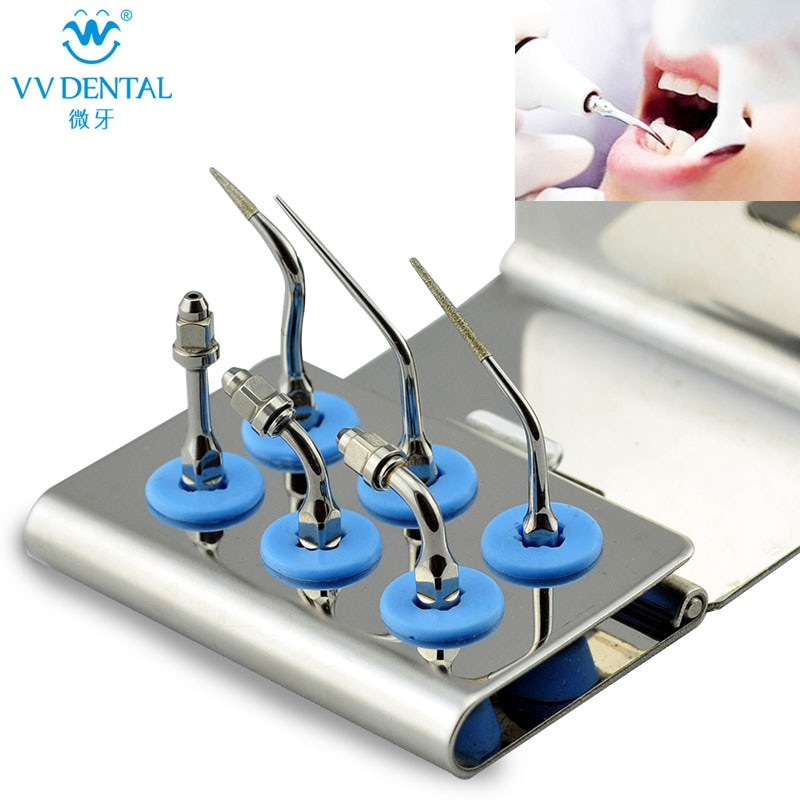 Dental Endodontics Scaler Tips Kit EEKS Compatible With EMS And Woodpecker UDS For Dental Root Canal Cleaning Tools