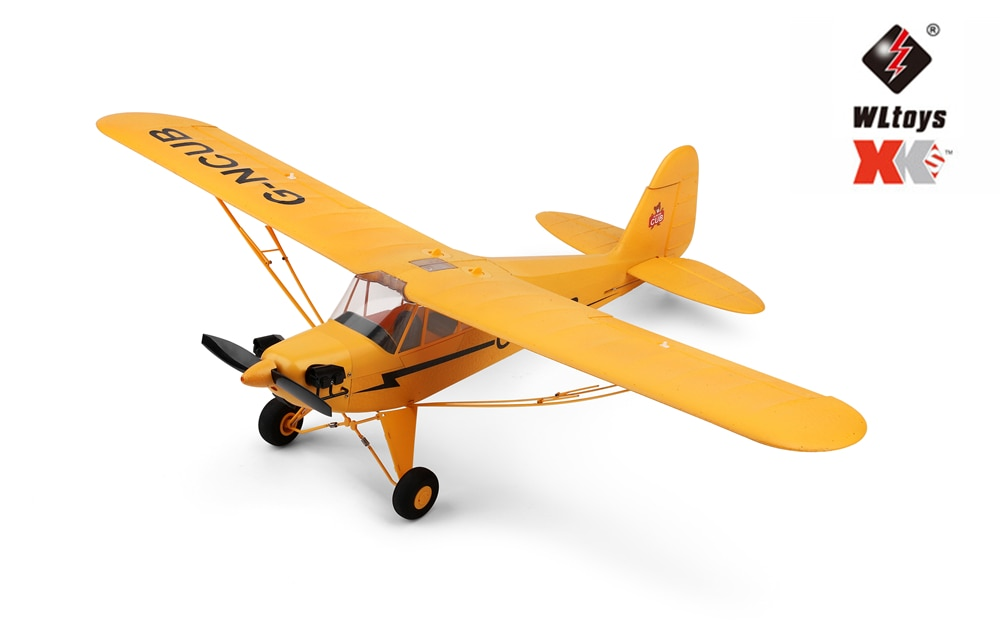 Wltoys XK DHC-2 A600 RC Plane RTF 2.4G Brushless Motor 3D/6G Remote Control Airplane Compatible FUTABA S-FHSS Aircraft RC Glider enlarge