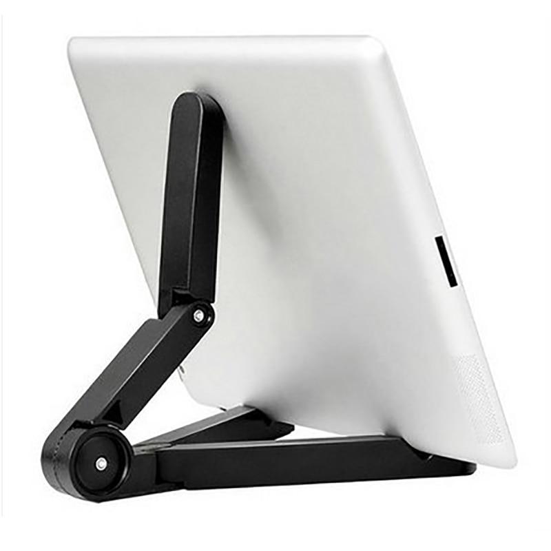 Soporte plegable teléfono y Universal para tableta de montaje de escritorio ajustable de trípode de mesa para IPhone IPad Mini