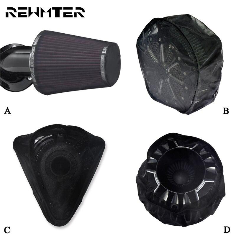 Calcetín de lluvia impermeable para motocicleta, cubierta para lluvia para Harley Sportster 883 1200 XL XR, Touring Road King, Softail Electra Glide Dyna