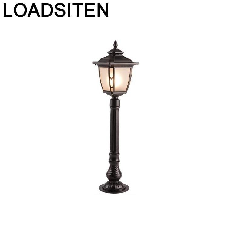 Ogrodowe LED Lamp Lampara Lighting De Tuin Verlichting Terraza y Luz Luce Para Outdoor Decoracion Jardin Exterior Garden Light