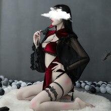 Déguisement Sexy Halloween Performance pour fête Halloween filles sorcière Vampire Cosplay déguisement Disfraz Anime culotte vache Cosplay