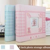 baby growth commemorative album kindergarten graduation gift postcard storage birthday 6 inch photo album 200 sheets
