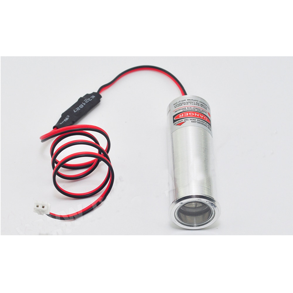 2pc 650nm 660nm 130mW 3.7-5V 22% 2A70mm 2270 KTV Bar Escape Room Laser Module Wine Display Stand Red Fat Beam Декоративный Показать Свет