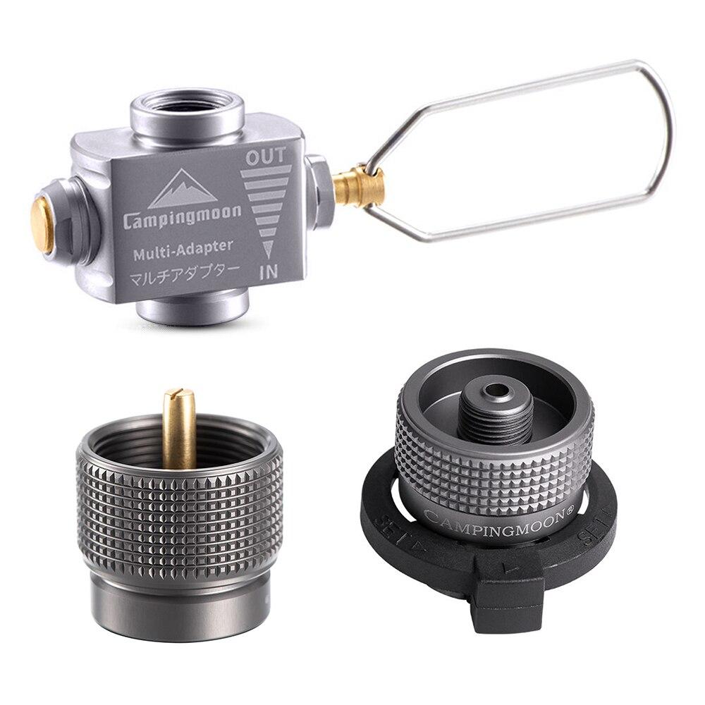 Адаптер газовой плиты Gas Saver Plus с бутановым адаптером, газовый адаптер, адаптер для заправки туристической плиты, оборудование для кемпинга